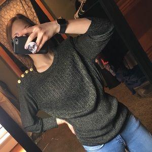 FINAL $. Eva Mendez for NY&Company gold sweater